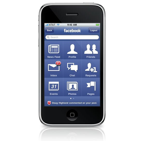 facebook-30-iphone-app